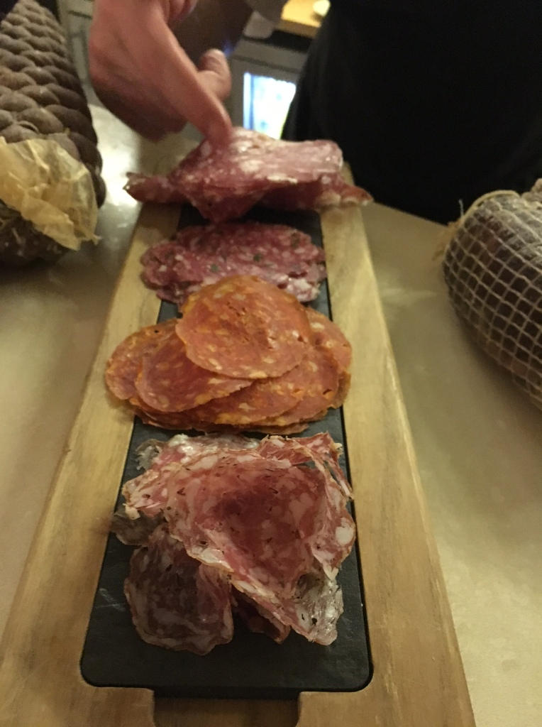 Salami from Charcuterie Great Fosters