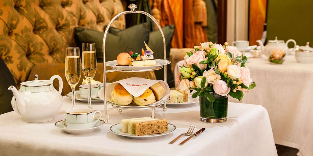 Chelsea Flower Show Afternoon Tea at The Dorchester