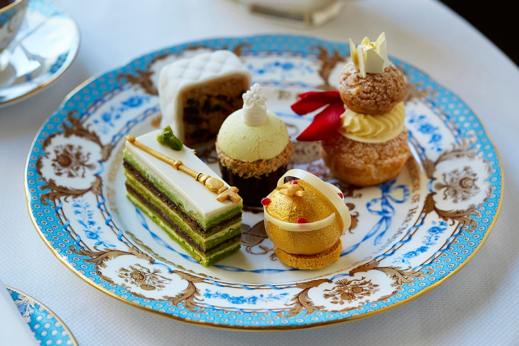 The Queen's 90th Birthday Afternoon Tea at The Goring