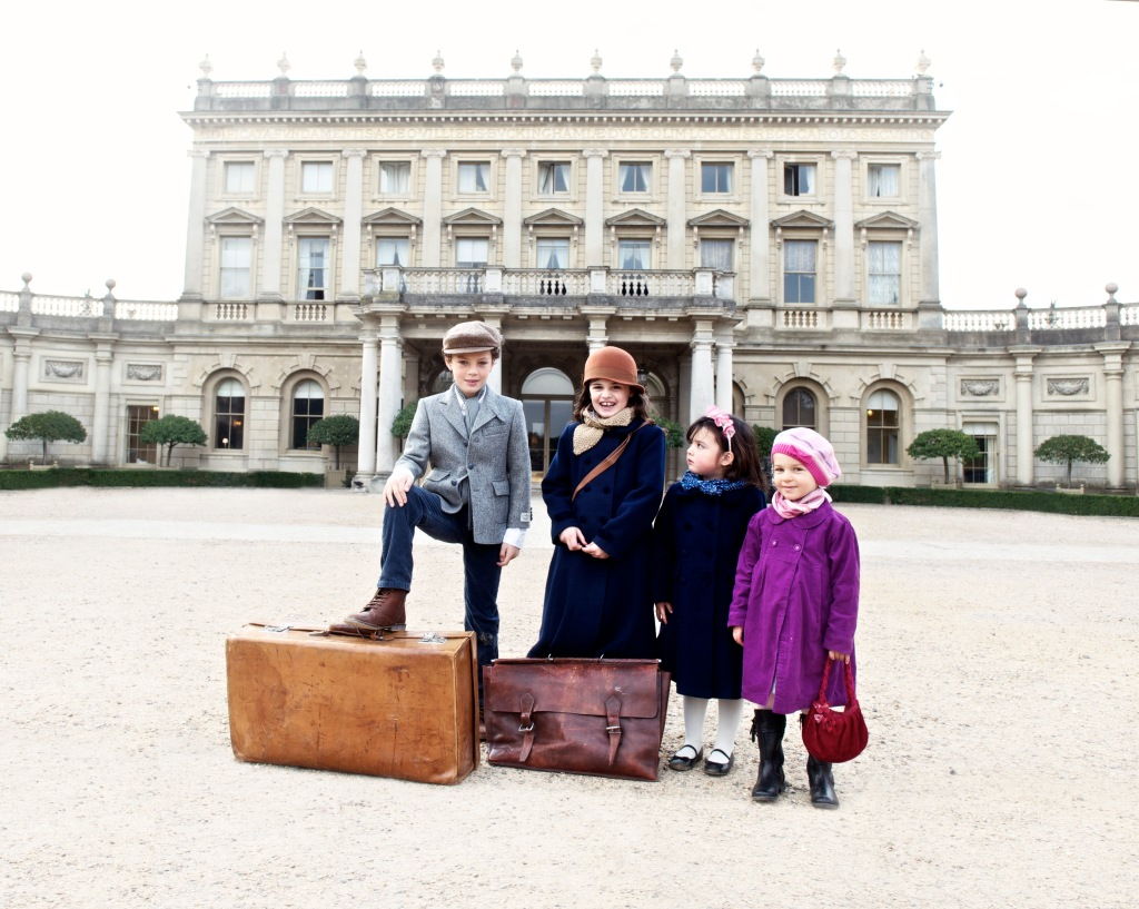 Young visitors at Cliveden