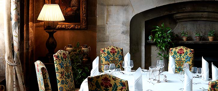 Private Dining at Stapleford Park