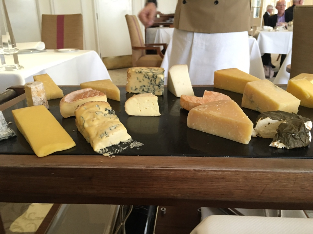 The Goring - Cheese Trolley
