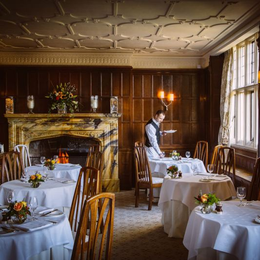 Gravetye Manor Dining