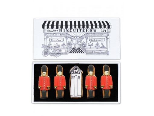 Queen's Guard Biscuit Card