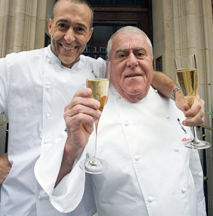 Albert Roux and Michel Roux Jr
