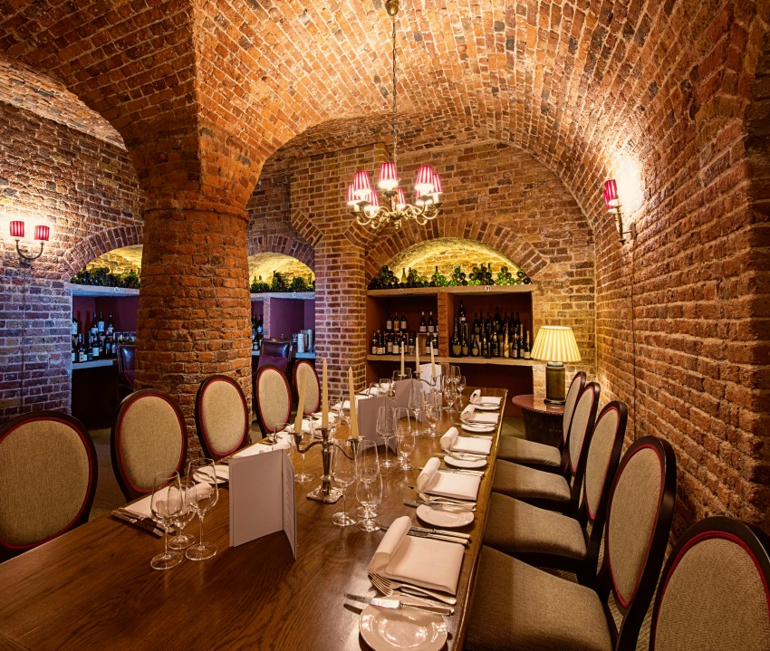 The Cellar Dining Room - Cliveden