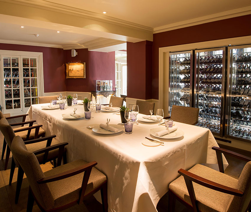 The Wine Room at Chewton Glen