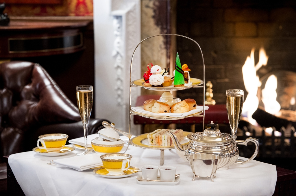 Festive Afternoon tea at The Goring