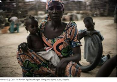 Action Against Hunger -Monguno, Photo credit: Guy Calaf