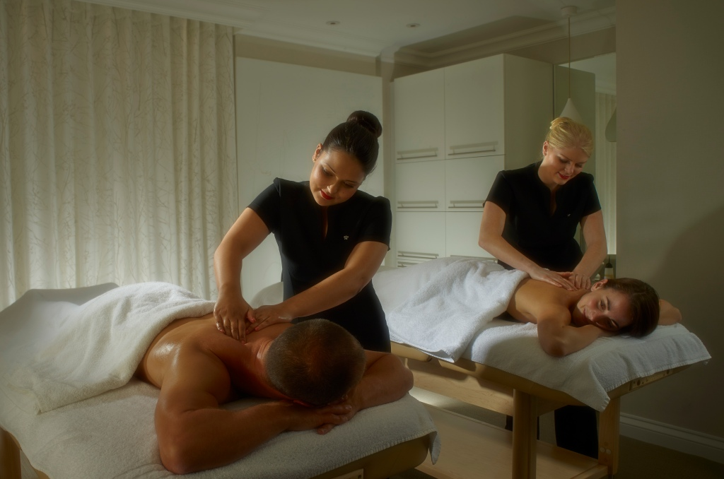 Chewton Glen Spa Treatment Room