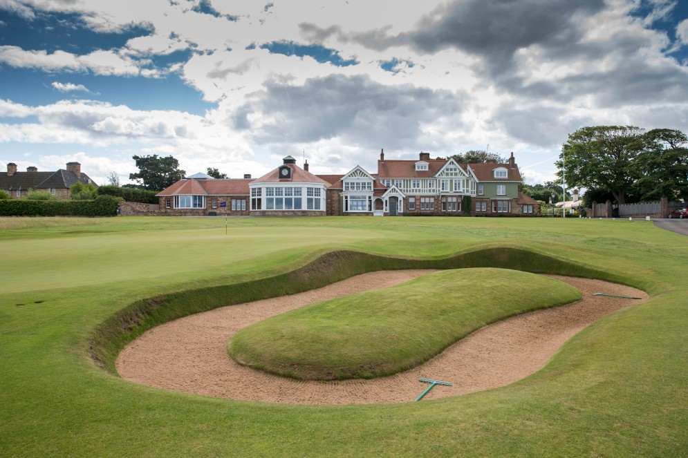 Fairstone Scottish Amateur Final, Muirfield Golf Club, East Lothian. Pic Kenny Smith, Kenny Smith Photography 6 Bluebell Grove, Kelty, Fife, KY4 0GX Tel 07809 450119,
