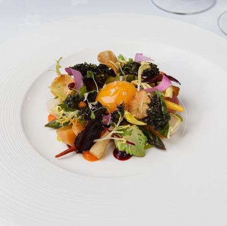 Gravetye winter salad