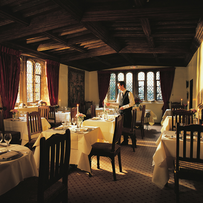 Tapestry Restaurant, Bailiffscourt Hotel