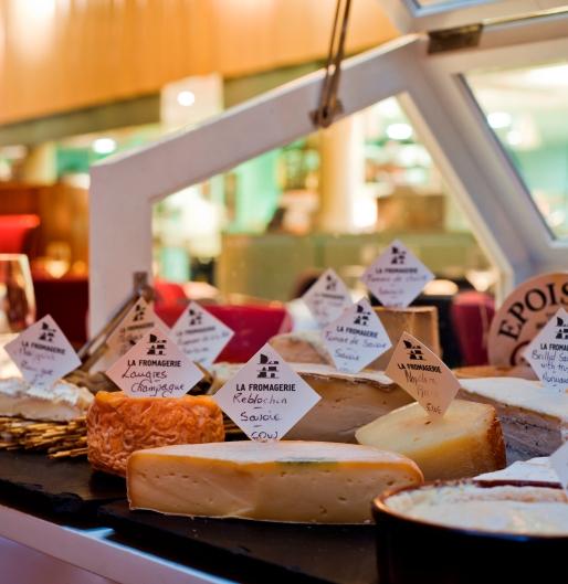 Cheese selection at Boundary