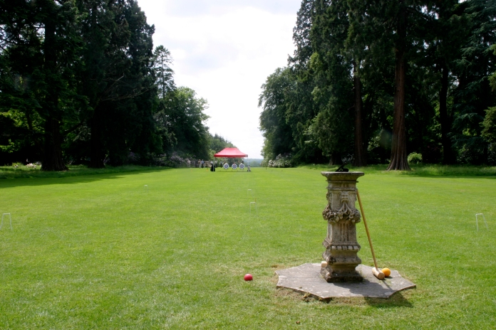 Croquet at Tylney Hall