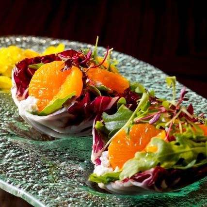 Amaya - Mandarin & Goats Cheese Salad RB 0143-2