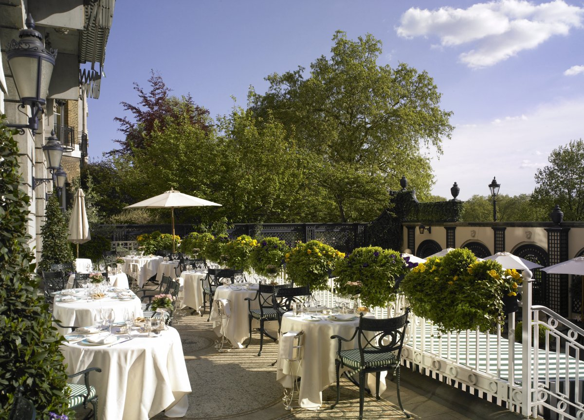 The Most Luxurious Outdoor Dining in London