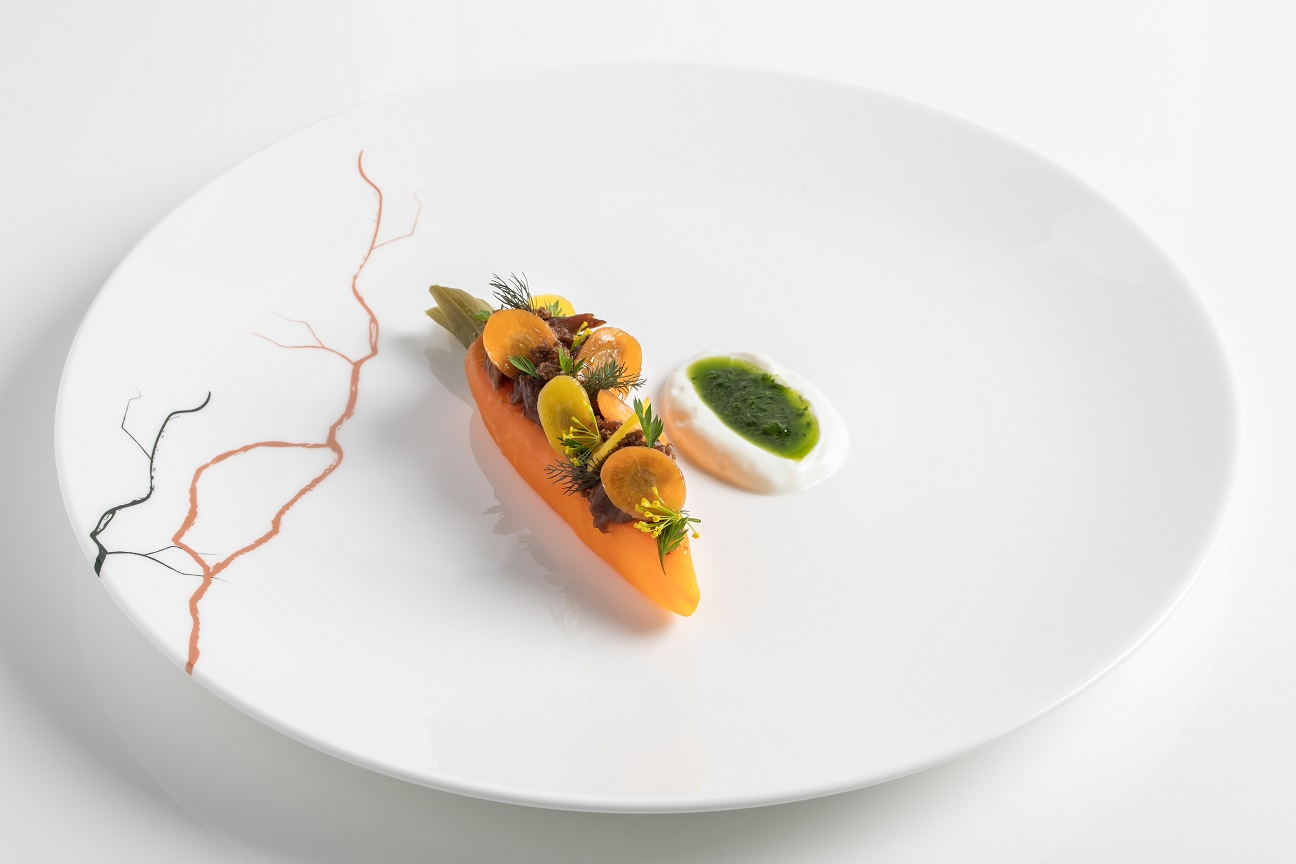 Lamb Braised Carrot Sheeps Milk Yoghurt